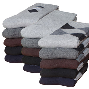 5 Pairs of Thick Thermal Cotton Socks