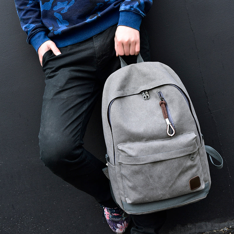 Canvas Travel Laptop Backpack