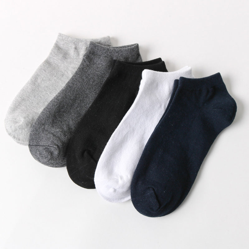 5 Cotton Socks Pairs