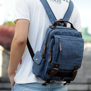 Small Multi-functional Rucksack Backpack