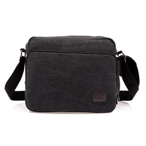 Noblemen™ Casual Black Messenger