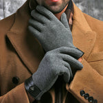 Classic Grey Touchscreen Gloves