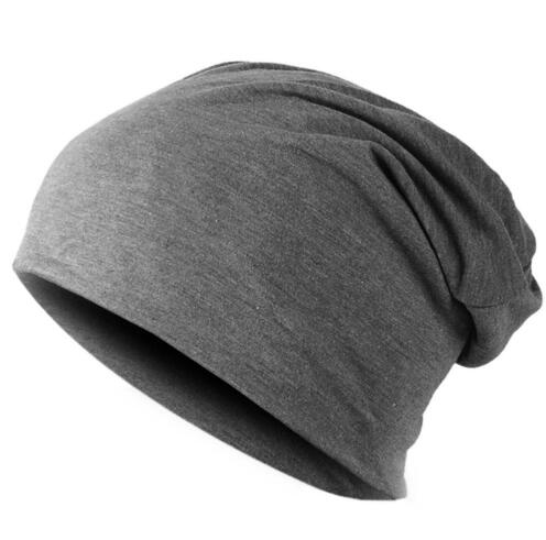 Grey Knitted Bonnet Cap