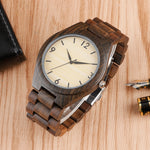 Creative White Bamboo Watch