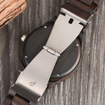 Creative Brown Bamboo Watch