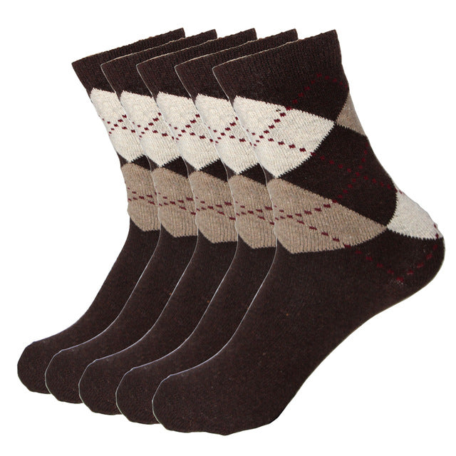 5 Pairs of Wool Socks