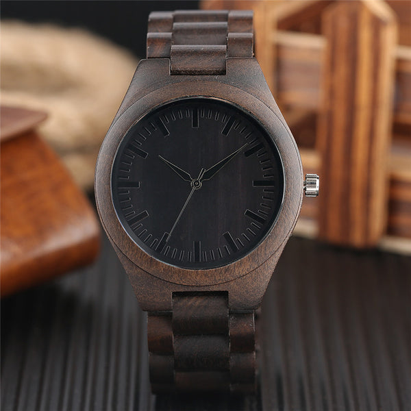 Bamboo Dark Watch