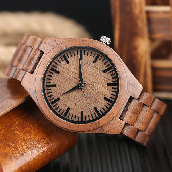Bamboo Light Watch