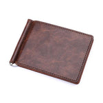 Mini Leather Wallet & Money clip