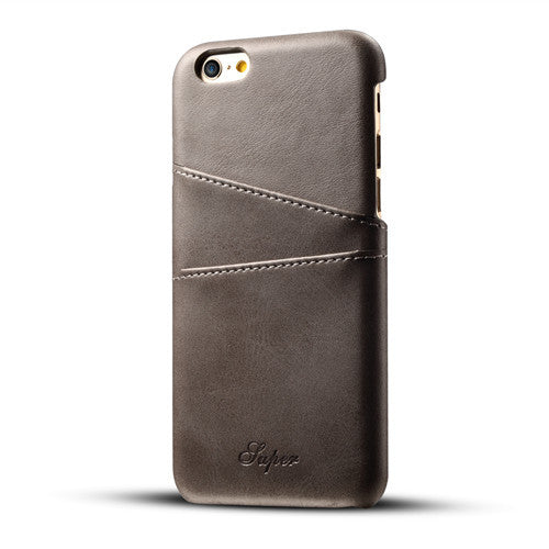 Leather Card Holder For iPhone
