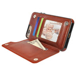 Luxury Card Holder Case For iPhone