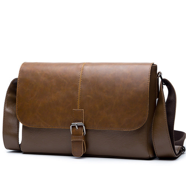 European Style Leather Messenger Bag