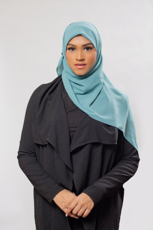 Everyday Chiffon Hijab | Dusty Green Hijab Dana Fashion