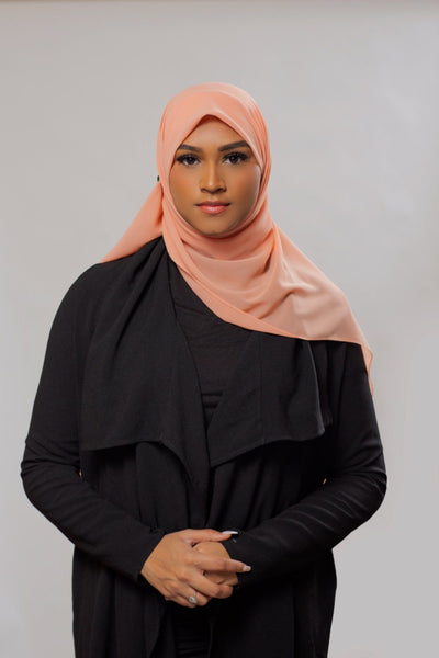 Everyday Chiffon Hijab | Salmon Hijab Dana Fashion