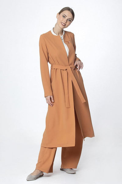Trousers Set | Cinnamon Color Two-piece sets Dana Fashion