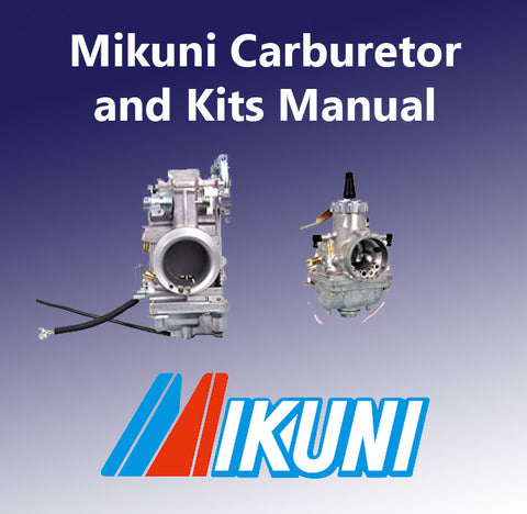 Mikuni Carburetor Tuning Manuals