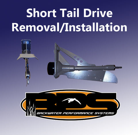 Short Tail Drive Removal/Installation