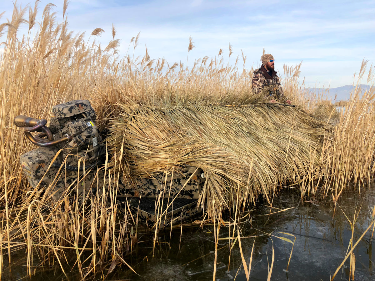 Fastgrass Boat Blind at the lake