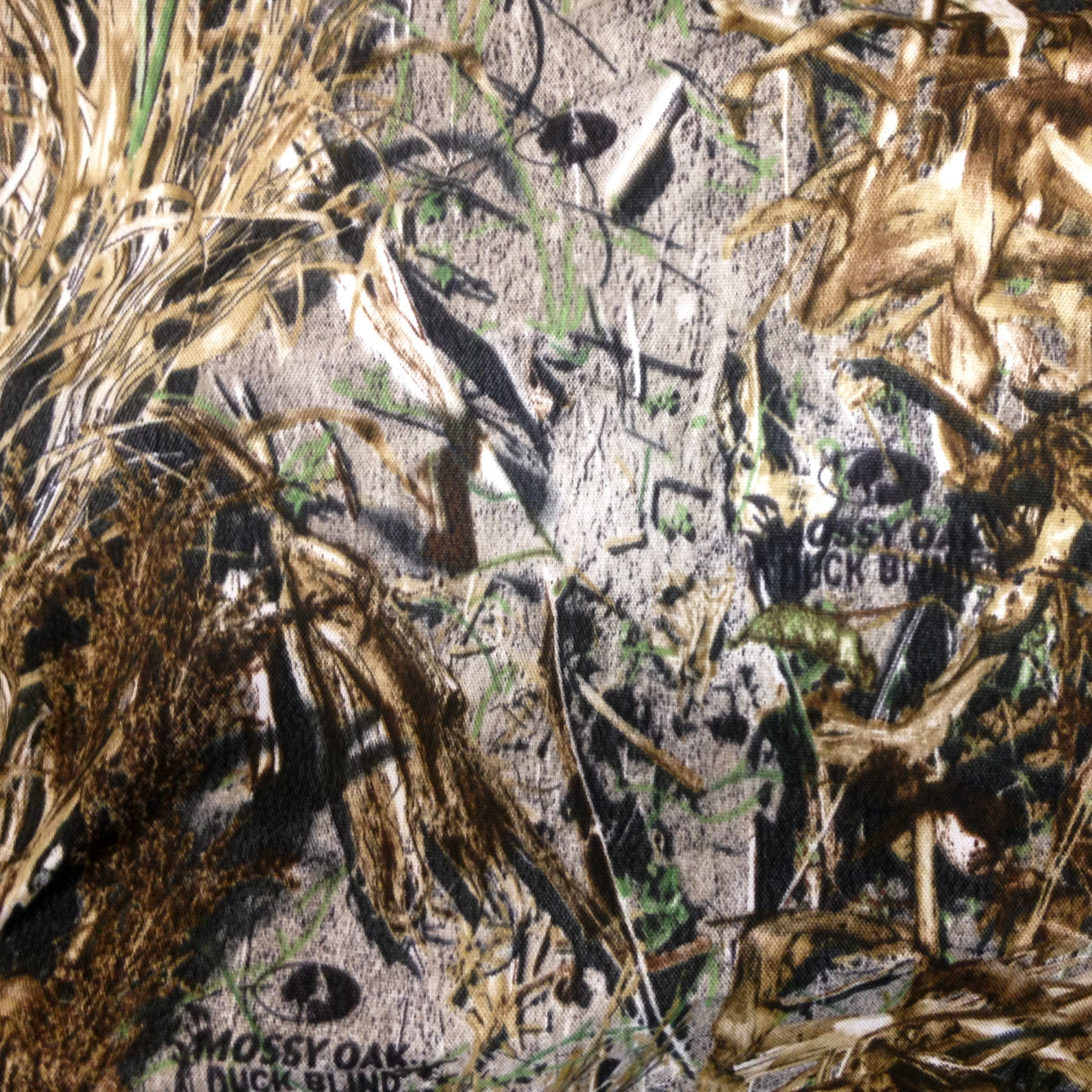 Duck Blind Camo Pattern