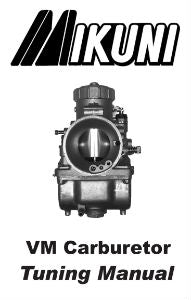 Mikuni VM Round Slide Carburetor Tuning Manual