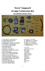 Single Carb Kit 34mm Installation Instructions