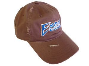 Hat Excel Brown Velcro Adjust