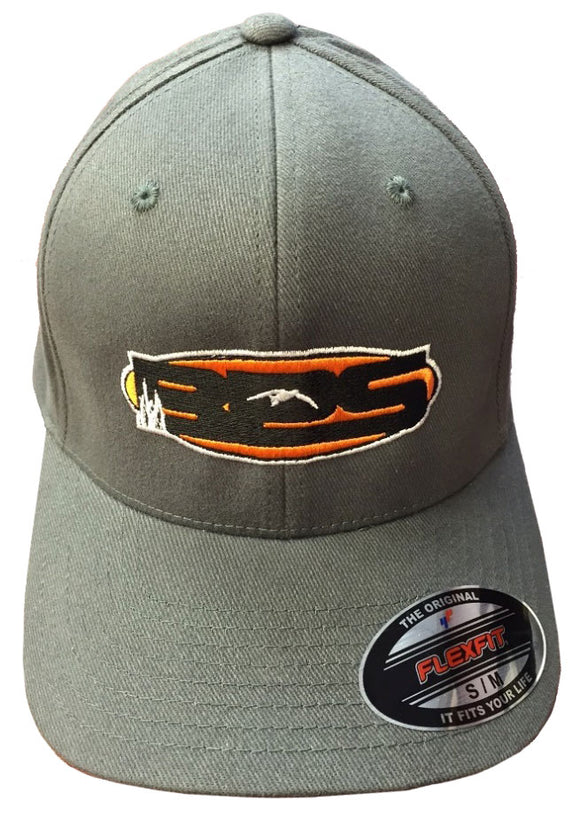 Hat BPS Grey Flexfit