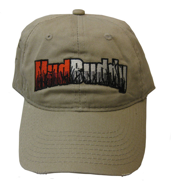 Hat Mud Buddy Tan Velcro Adjust