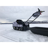 Sled with Hitch & Wear Bar