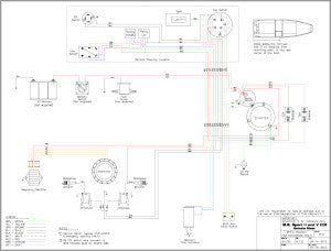 Wiring Diagram Sport V Remote Steer for Outboard Mud Buddy