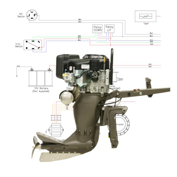 Wiring Diagram Sport V Mag For Outboard Mud Buddy Outboard Motors  U2013 Backwater Performance