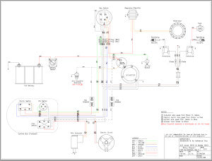 Wiring Diagram Sport Merc 4000, 5000, 6000 for Outboard