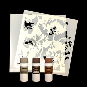 Natural Gear Camouflage Stencil Kit
