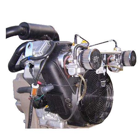 Carb Kit Twin Horizontal Large Vanguard