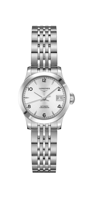 Longines Record 26mm Stahlband