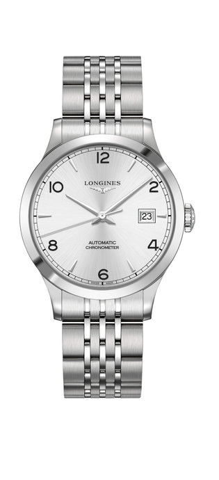 Longines Record 38mm Stahlband