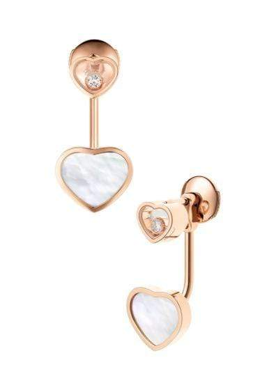 Chopard Schmuck - Ohrstecker Perlmutt `Happy Hearts