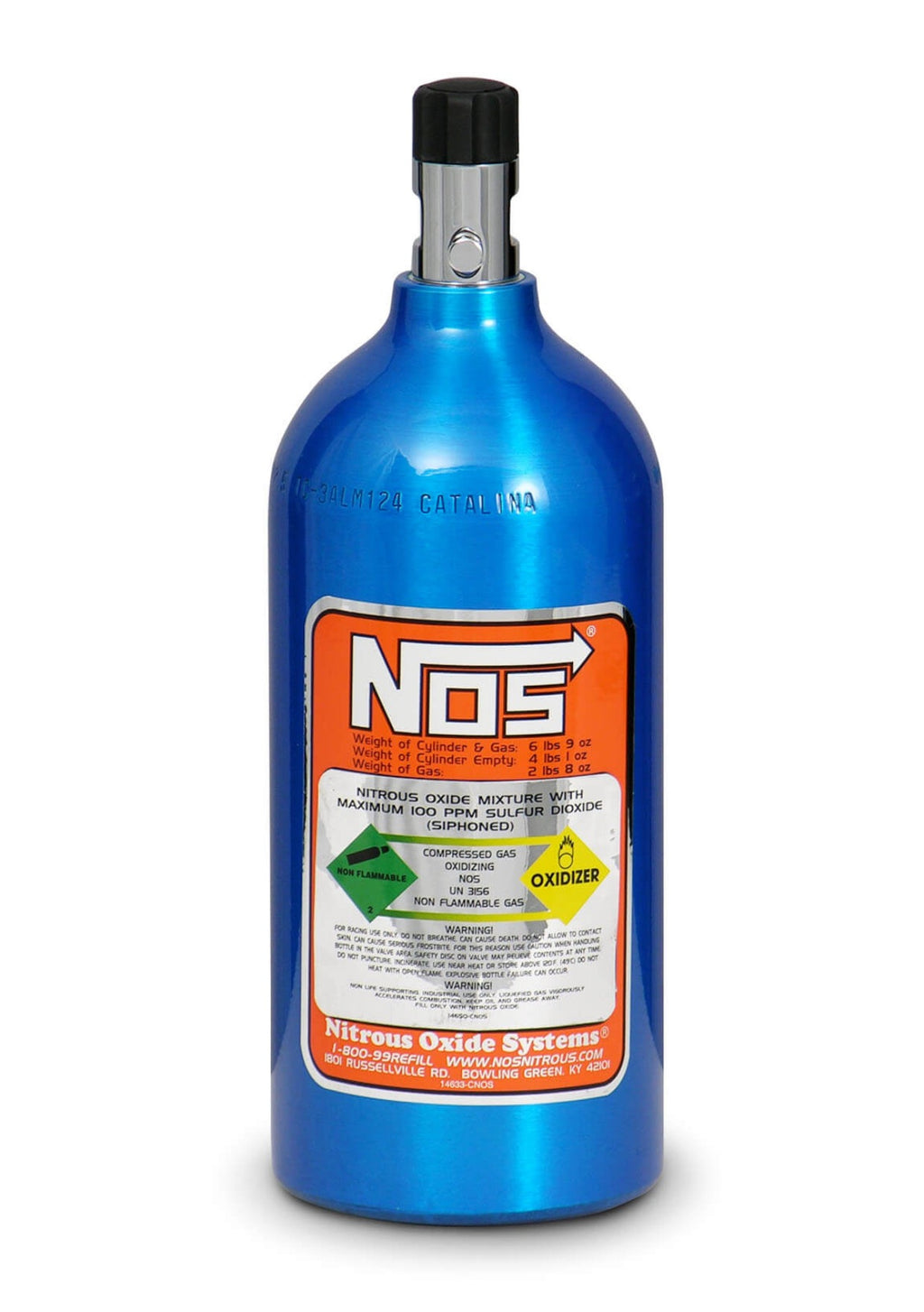 2.5lb NOS Nitrous Bottle