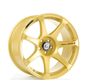 Cosmis Racing MR7 Gold 18x10 +25mm 5x144.3
