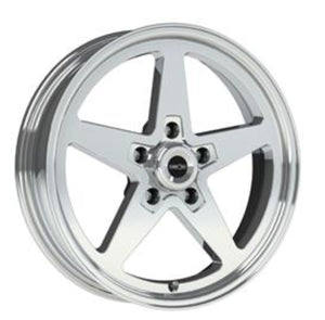 Vision 571 Sport Star Polished 17x4.5 5x4.5 1.75BS