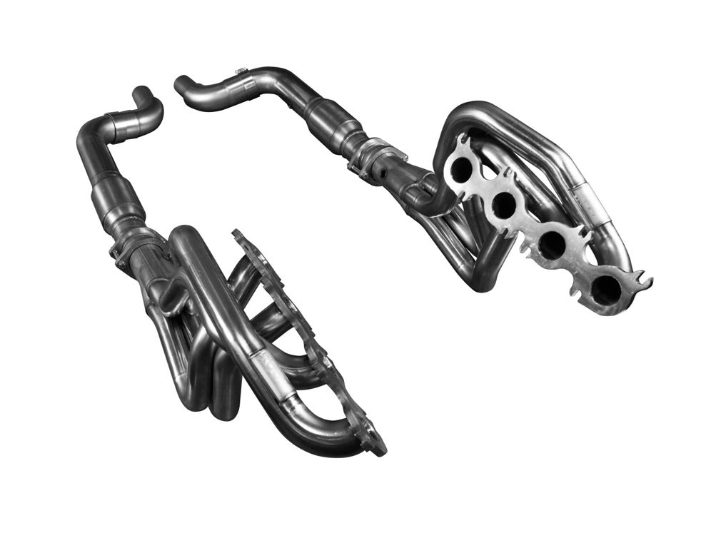"Kooks 2015+ Mustang GT 5.0L 1 3/4"" X 3"" Stainless Steel LongTube Header w/Catted Connection Pipe"