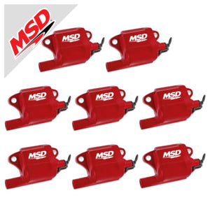 MSD Pro Power Coil For Gm LS Series Engines 8-Pack(LS1/2/3/6/7)