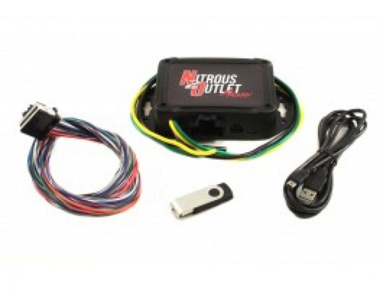 NITROUS OUTLET PROMAX DUAL CHANNEL PROGRESSIVE CONTROLLER + SCREEN/SENSORS