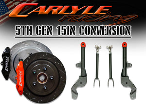 Carlyle Racing 5th Gen Camaro 15″ Kit