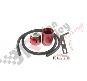 ELITE ENGINEERING C6 CORVETTE CATCH CAN - RED - (08-13 LS3)