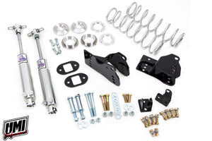UMI Performance 1978-1988 GM G-Body Rear Coilover Kit, Control Arm Relocation, Bolt-In, Stock Height