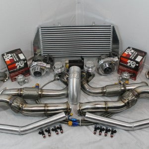 UPP C6 Corvette Twin Turbo Kit