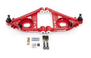 "UMI Performance Front Lower A-Arms, Delrin, ½"" Taller Ball Joints"