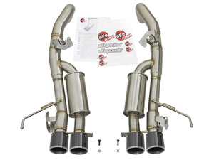 "MACH Force-Xp 3"" to 2-1/2"" 304 Stainless Steel Axle-Back Exhaust System Chevrolet Corvette (C7) 14-19 V8-6.2L (LT1) W/ Factory Style NPP & AFM Valves"