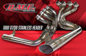 DME Racing Stainless Steel Exhaust Headers